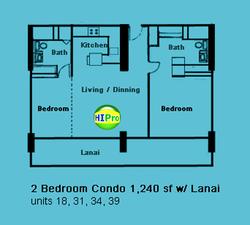 The Ilikai 2 Bedroom Condo