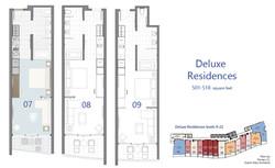Deluxe - Residence floorplans