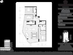 Residence C w/Den  Stack B