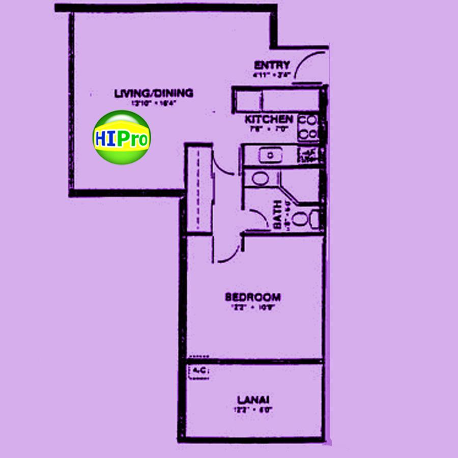 Island Colony 1 Bedroom unit