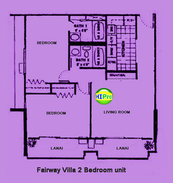 Fairway Villa 2 bedroom unit