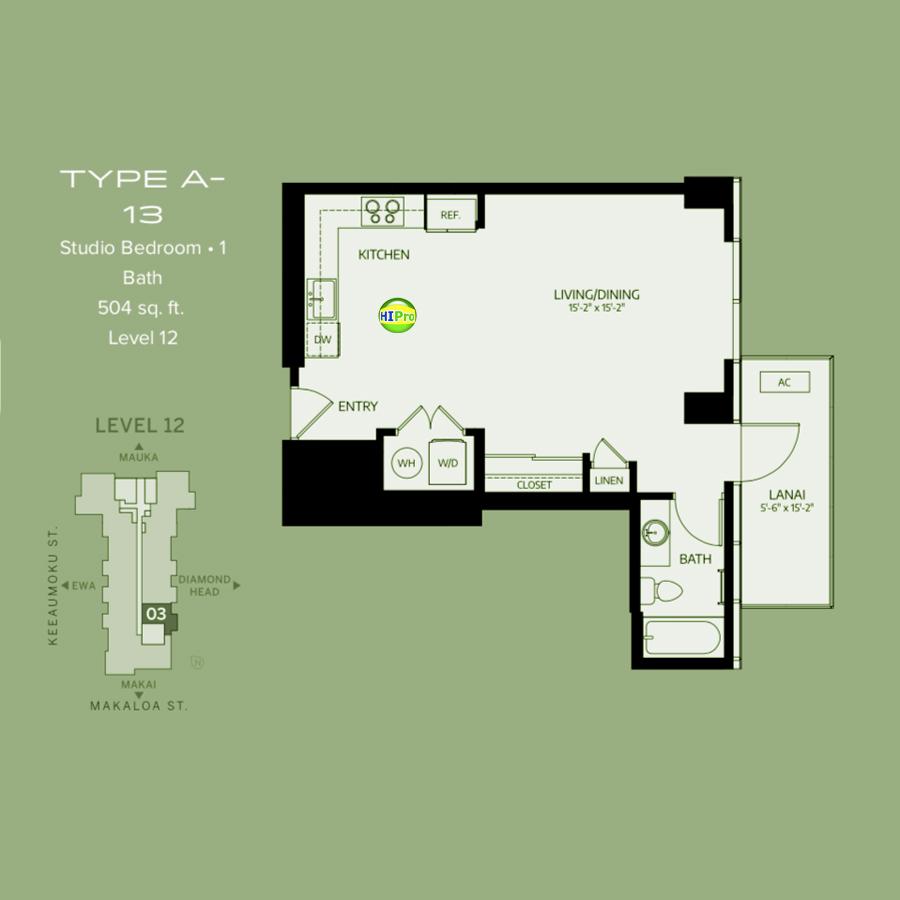 Azure Ala Moana type-A13