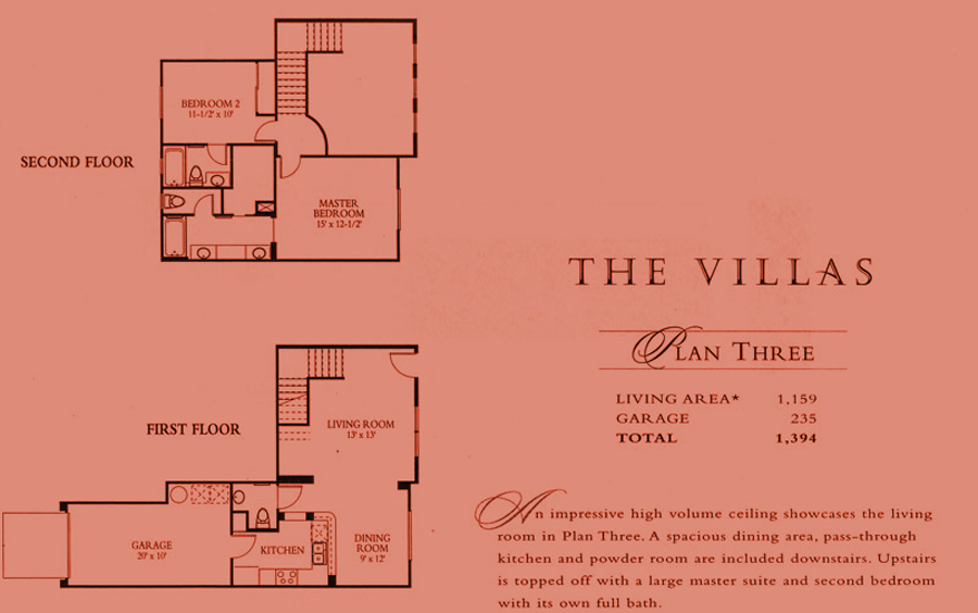 The Villas - plan 3