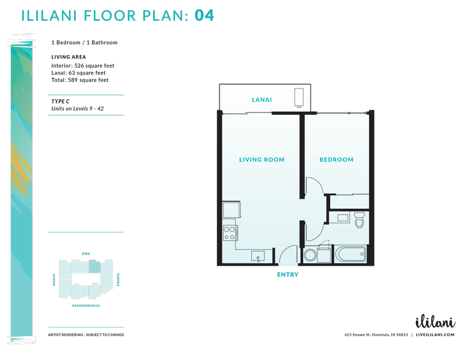 Ililani Floor Plan 04