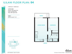 Ililani Floor Plan 04