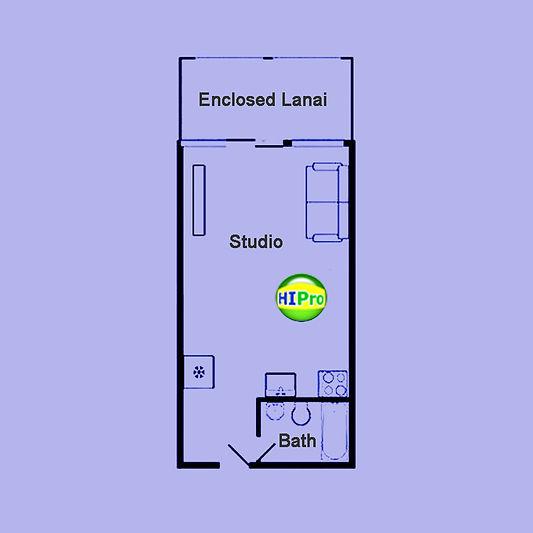 1718 Anapuni Floor Plan