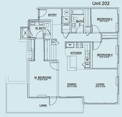 Floor Plan Unit 202