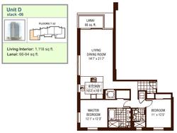 Watermark floor plan D