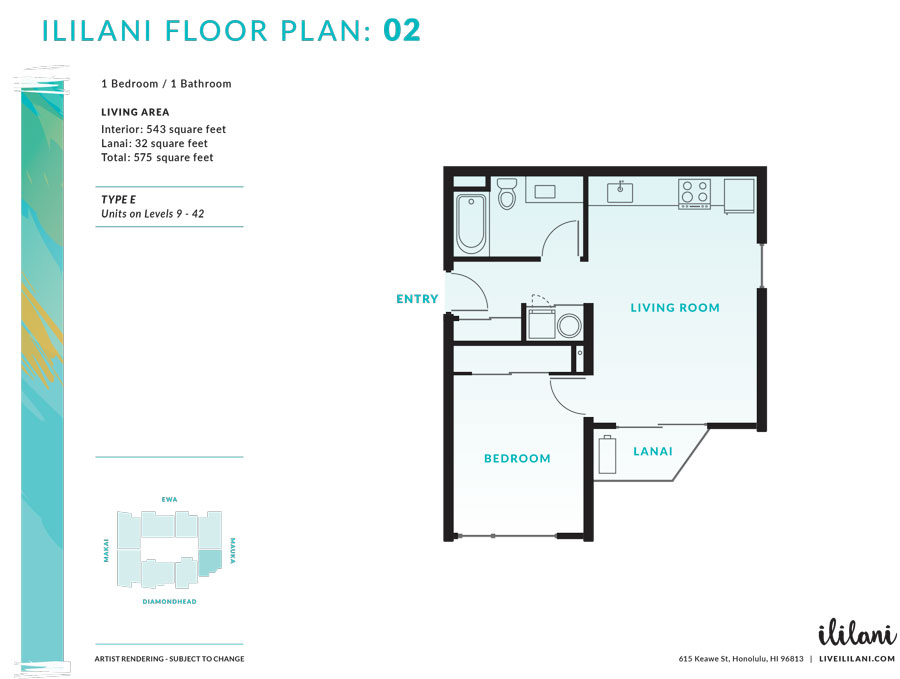 Ililani Floor Plan 02