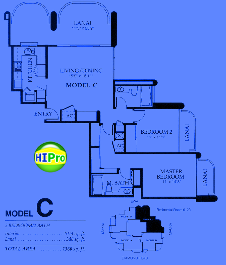 Nuuanu Parkside unit C