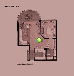 One Waterfront Tower unit B2