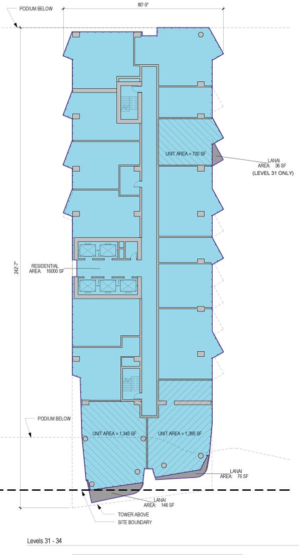 Ae'o Floorplate 31-34