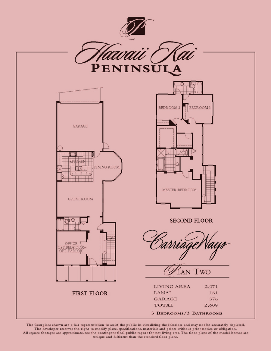 Carriage Ways - plan 2
