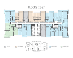 Floors 26 - 33