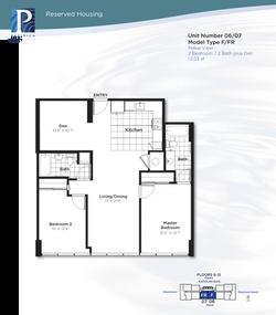 Pacifica Honolulu - Reserved Floors