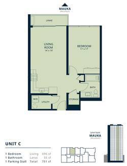 Kapiolani Residence unit C