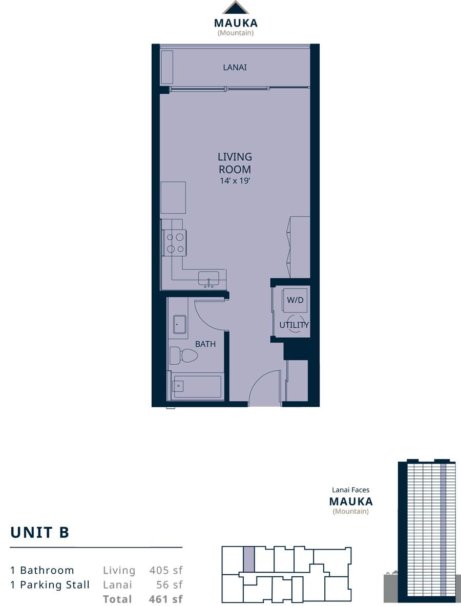 Kapiolani Residence unit B