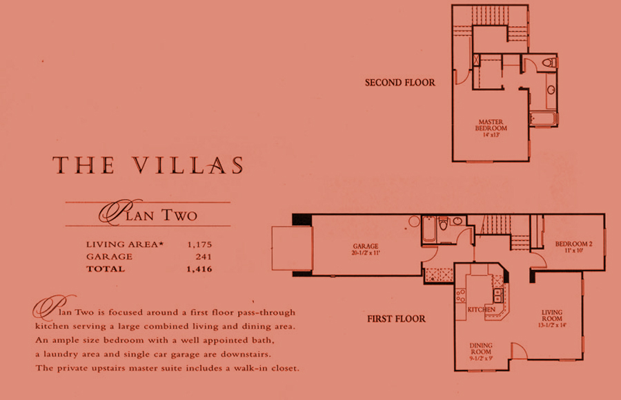 The Villas - plan 2