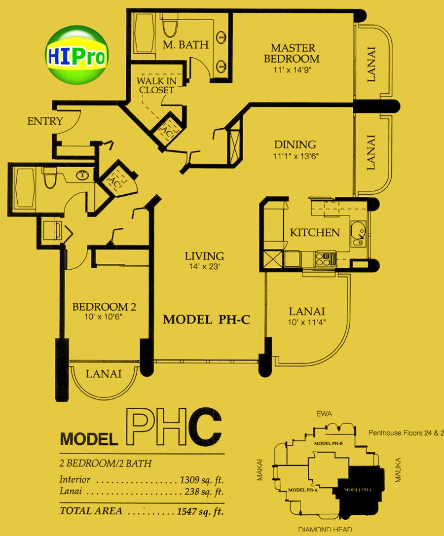 Nuuanu Parkside Penthouse C unit