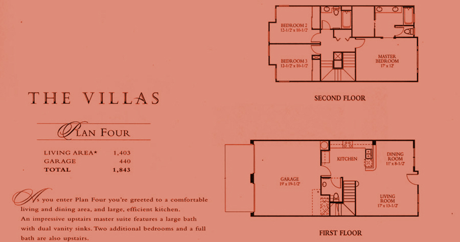 The Villas - plan 4