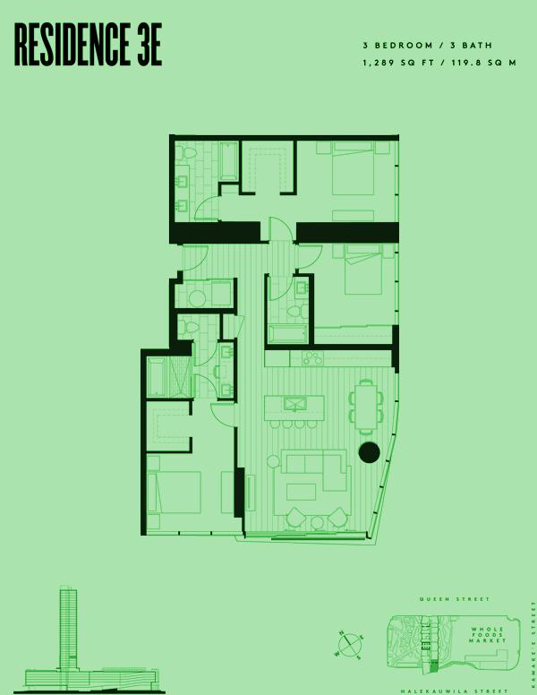 Aeʻo Residence 3E