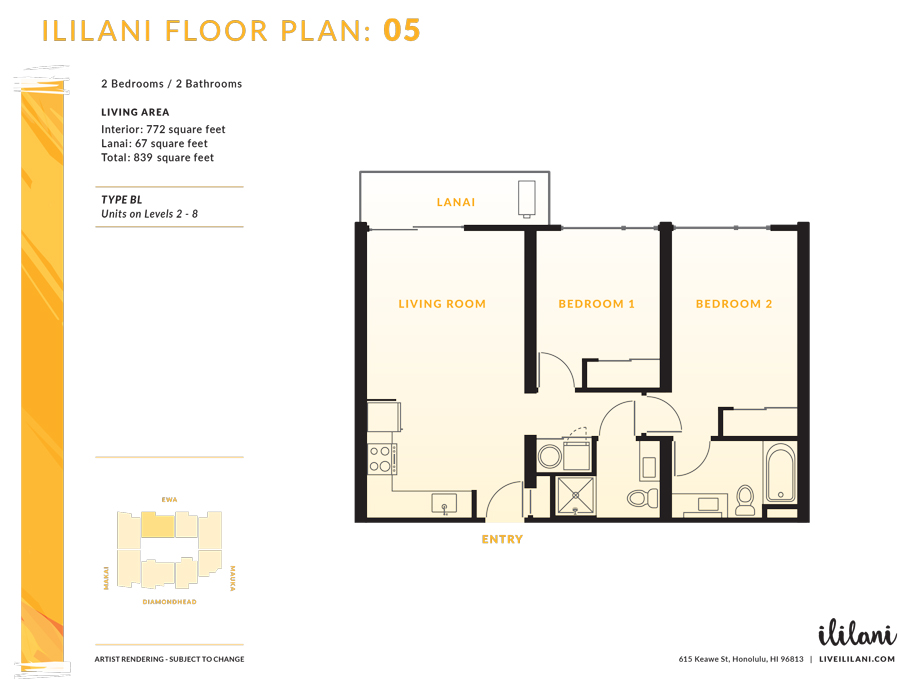 Ililani Floor Plan 08