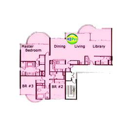 Uraku Tower penthouse C unit