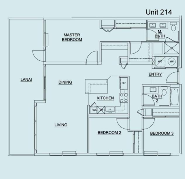 Floor Plan Unit 214