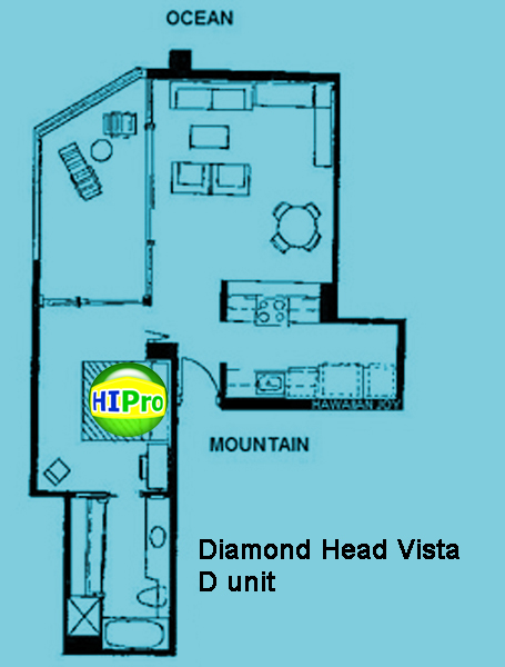 Diamond Head Vista unit D