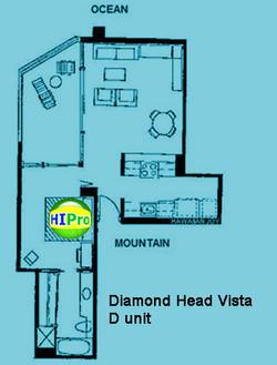 Diamond Head Vista unit D