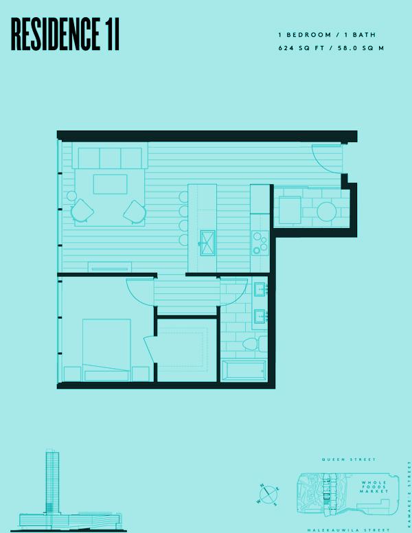 Aeʻo Residence 1I