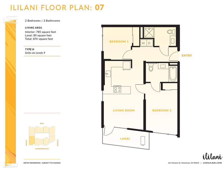 Ililani Floor Plan 07