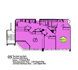 Punahou Cliffs floor plan 05