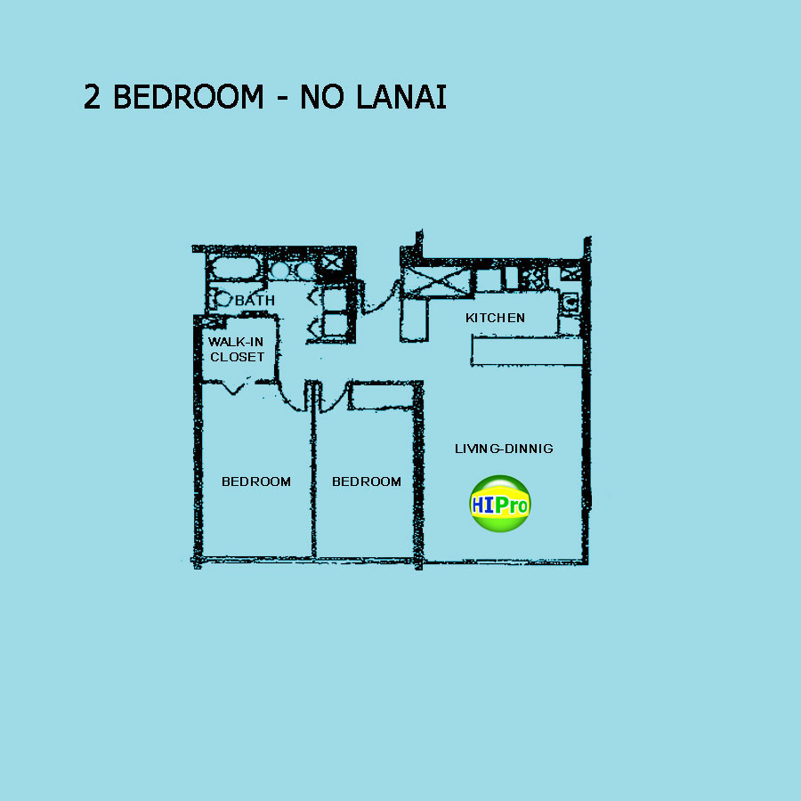 Kukui Plaza - 2 Bedroom w/ NO Lanai