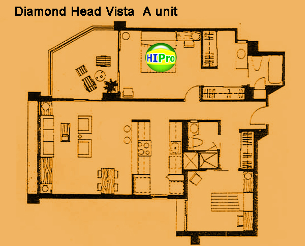 Diamond Head Vista unit A