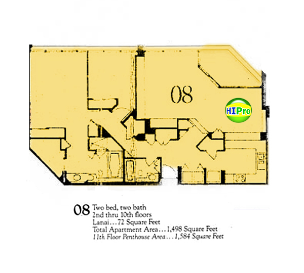 Punahou Cliffs floor plan 08