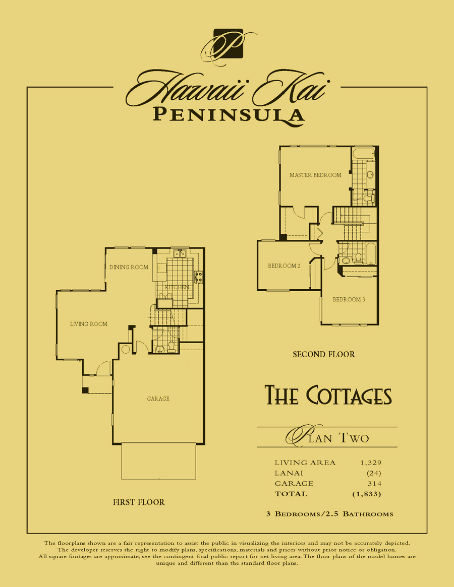The Cottages - plan 2