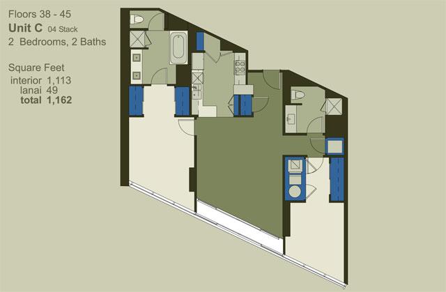 Floor 38-45 Unit C (04)