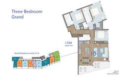 Grand Residence - 3 Bedroom