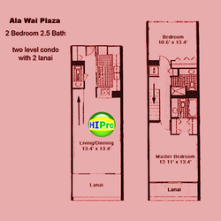 Ala Wai Plaza Unit 2