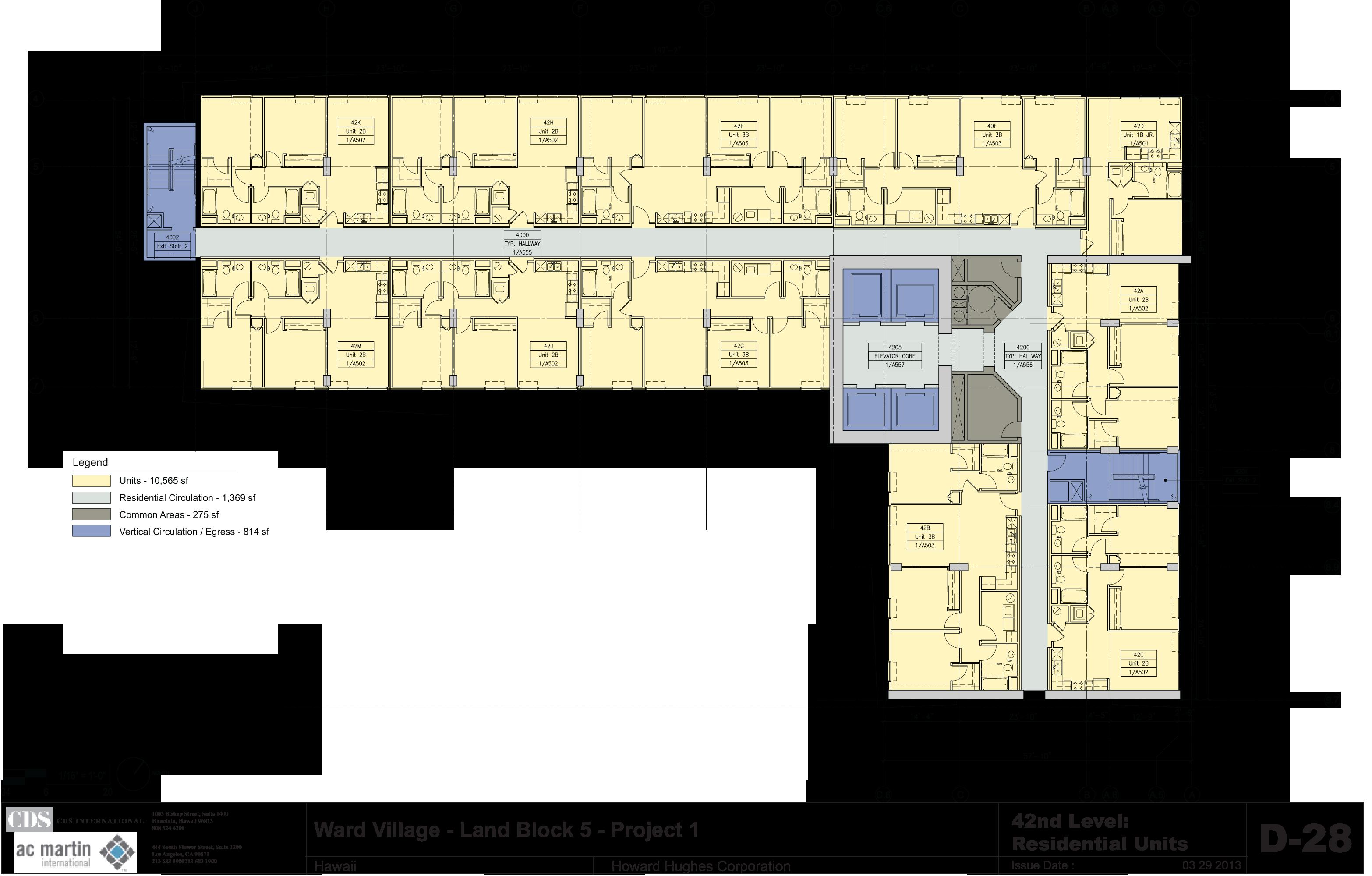 404-Ward Floor 42