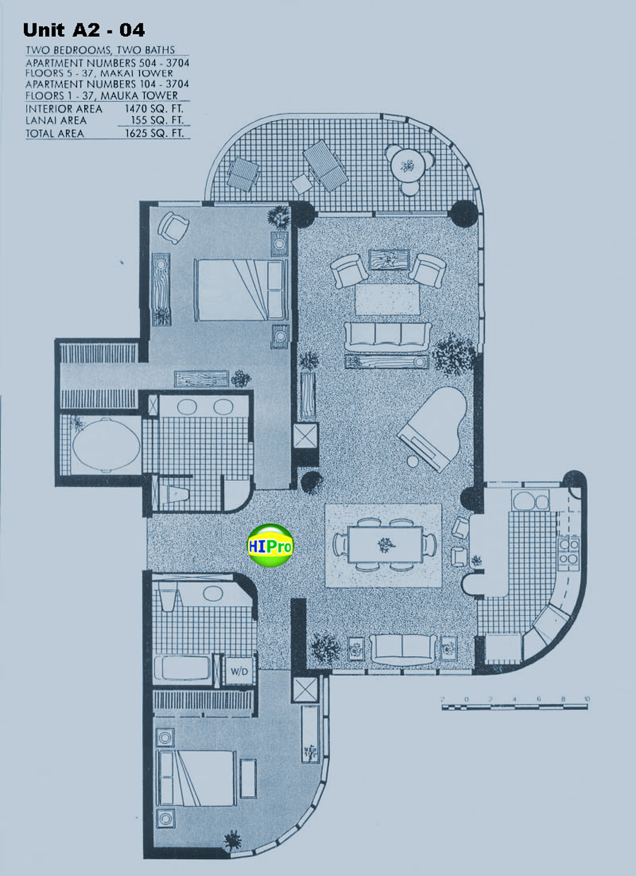 One Waterfront Tower unit A2