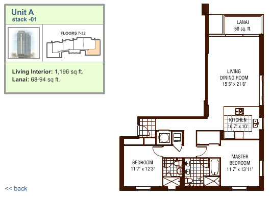 Watermark floor plan A