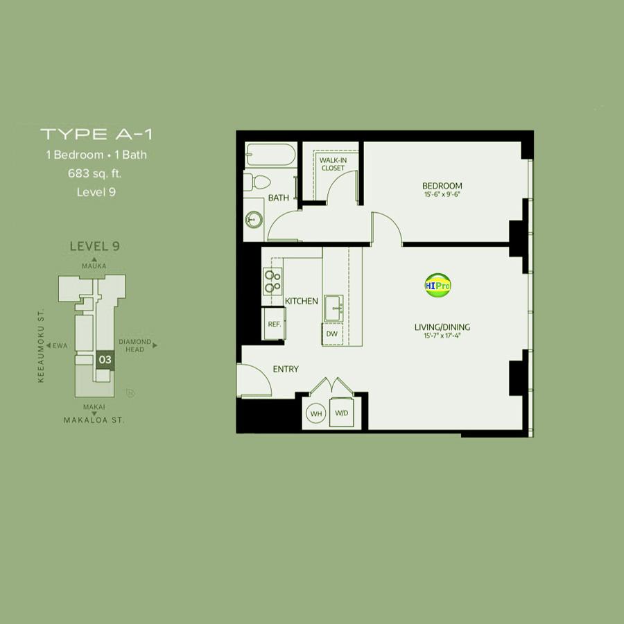 Azure Ala Moana type-A1