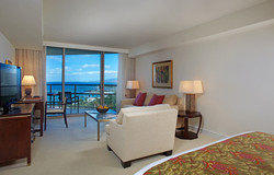 Trump Waikiki Bedroom / Living