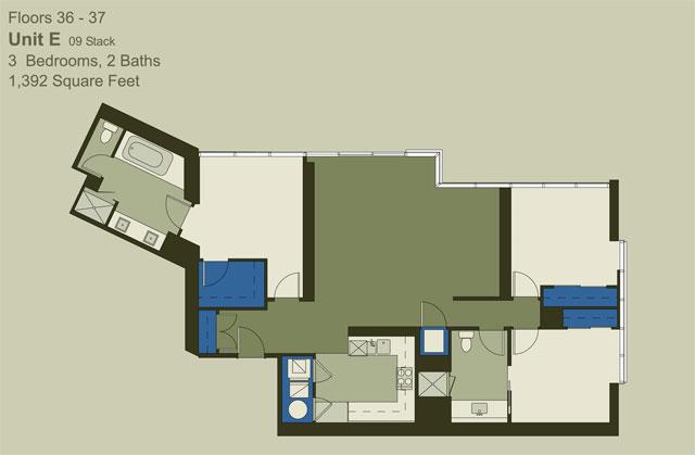 Floor 36-37 Unit E