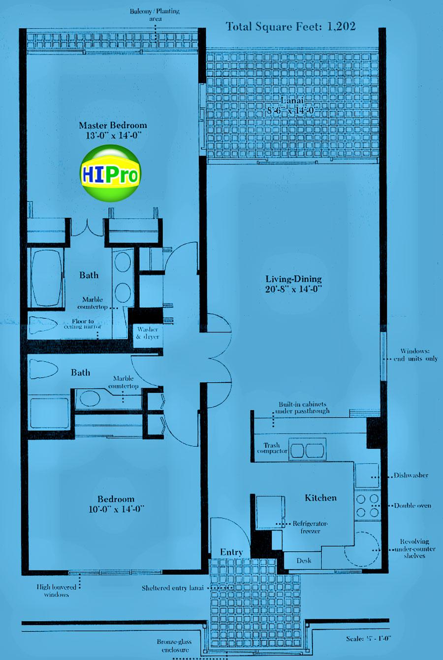 Esplanade 2 bedroom