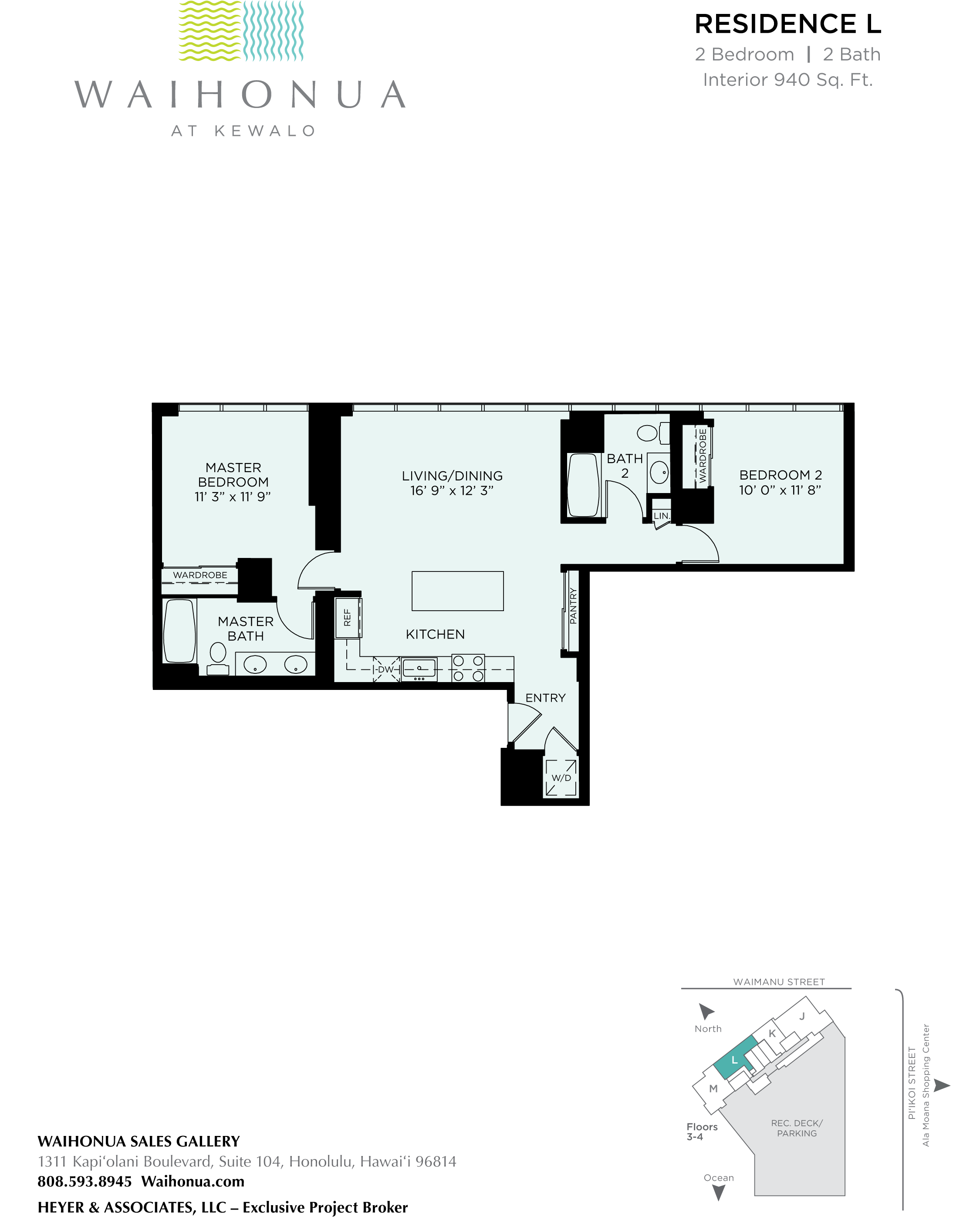 Waihonua Floor Plan L