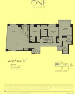 ONE Ala Moana Blvd. Penthouse 3C