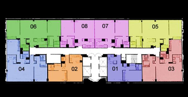 floor plans & floor plate